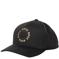 Черная кепка Hugo Boss с логотипом, фото