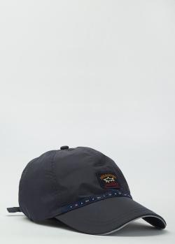 Мужская кепка Paul&Shark синего цвета, фото