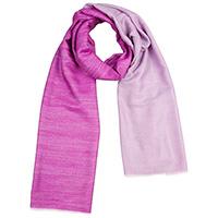 Кашемировый шарф Chadrin двухсторонний фиолетовый с сиреневым, фото
