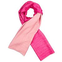 Кашемировый шарф Chadrin двухсторонний фуксия с розовым, фото