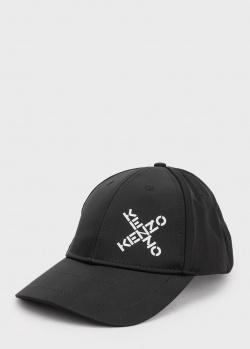 Кепка с принтом Kenzo черного цвета, фото