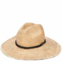 Женская шляпа Brunello Cucinelli бежевого цвета, фото
