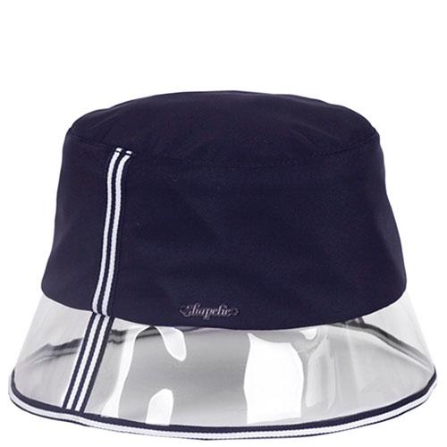 Спортивная шляпа Shapelie синяя с прозрачной тульей, фото