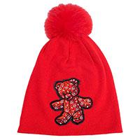 Детская шапка Philipp Plein с нашивкой в виде медвежонка, фото