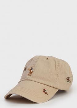 Мужская кепка Polo Ralph Lauren с вышивкой, фото