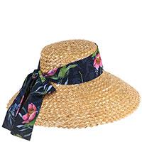 Соломенная шляпа Shapelie Грейс с лентой-шарфом, фото