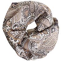 Платок кремового цвета Fattorseta из шелка, фото