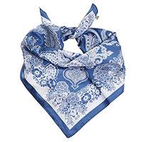 Шелковый платок Fattorseta с узором, фото
