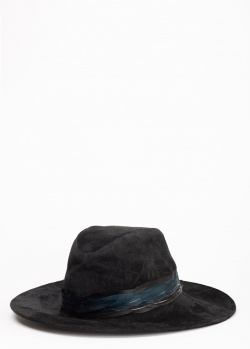 Черная шляпа Zadig & Voltaire Amanda с декором, фото