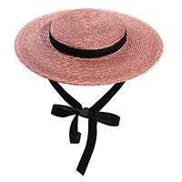 Соломенная шляпка Shapelie Джейн коричневого цвета, фото