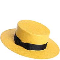 Женское канотье Shapelie желтого цвета, фото