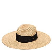 Бежевая шляпа Twin-Set с эффектом соломенного плетения, фото