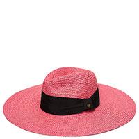 Шляпа розового цвета Twin-Set с эффектом плетения, фото