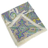 Сиреневый платок Fattorseta из вискозы, фото