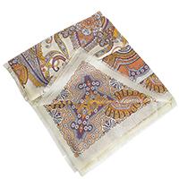 Терракотовый платок Fattorseta из вискозы, фото
