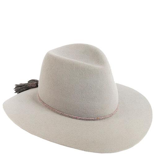 Шляпа женская Shapelie со шнурком и кистями, фото