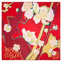 Платок женский Freywille с цветочным орнаментом, фото
