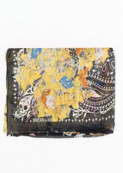 Прямоугольный шарф Zadig & Voltaire Fray Blossom с принтом, фото