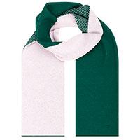 Шарф Woolkrafts Emerald Pink двухцветный, фото