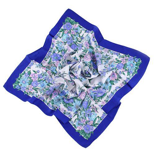 Платок Ostinelli в синих оттенках, фото