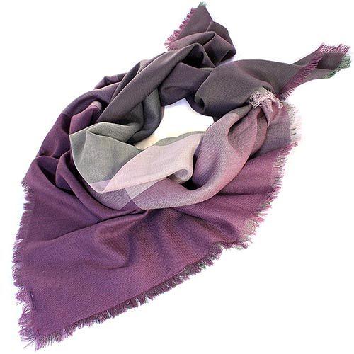 Шаль Maalbi нежного оливкового цвета в сочетании с пепельно-розовым , фото