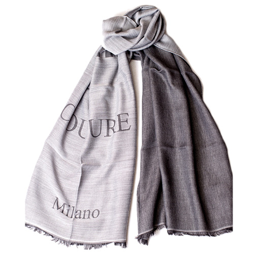 Женский шарф Moschino с брендовой надписью, фото