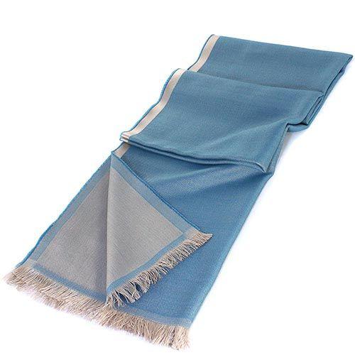 Палантин Maalbi голубого цвета, фото