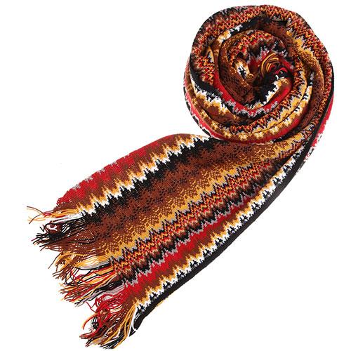 Вязаный шарф Missoni разноцветный, фото