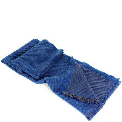 Шерстяной шарф Maalbi цвета джинс, фото