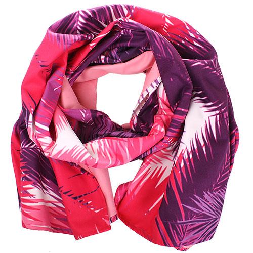 Платок-парео Ea7 Emporio Armani красный с фиолетовым, фото