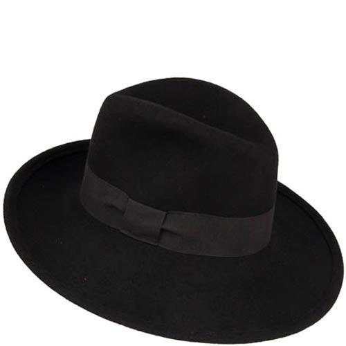 Шляпа-федора Hat You черного цвета, фото