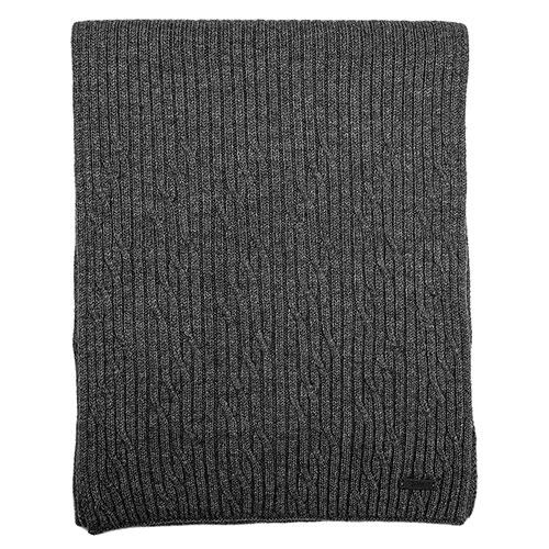 Мужской шарф Hugo Boss серого цвета, фото