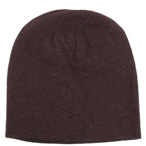 Шапка Hat You Cashmere коричневого цвета, фото