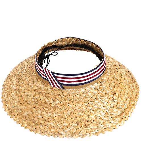 Шляпа Shapelie Визор с открытой тулью, фото