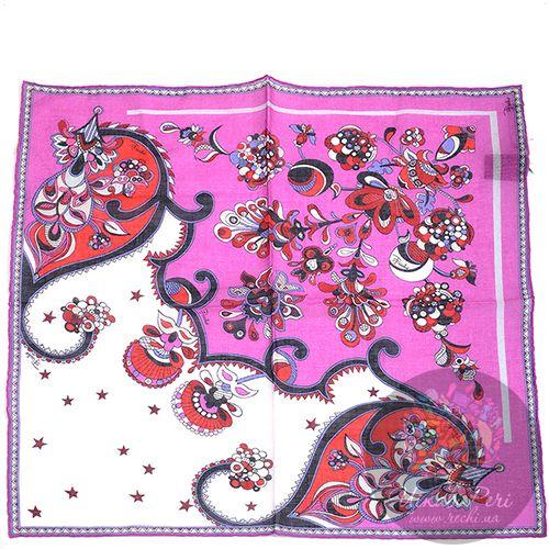 Шейный платок Emilio Pucci яркий розовый, фото