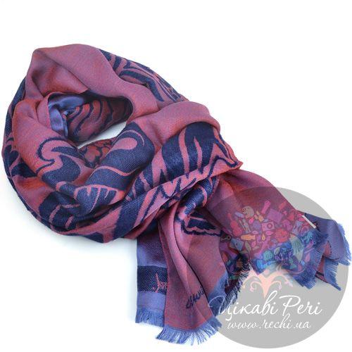 Палантин Vivienne Westwood фиолетово-бордовый, фото