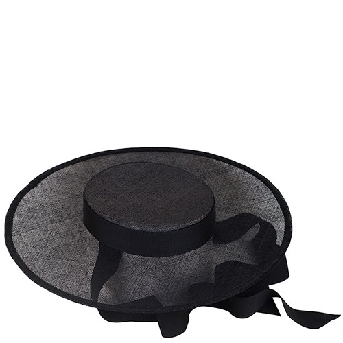 Шляпа женская Shapelie Скарлет с черной лентой, фото