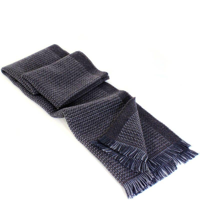 Шерстяной шарф Maalbi серого цвета