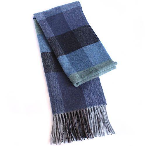 Шарф Maalbi в синих и голубых оттенках
