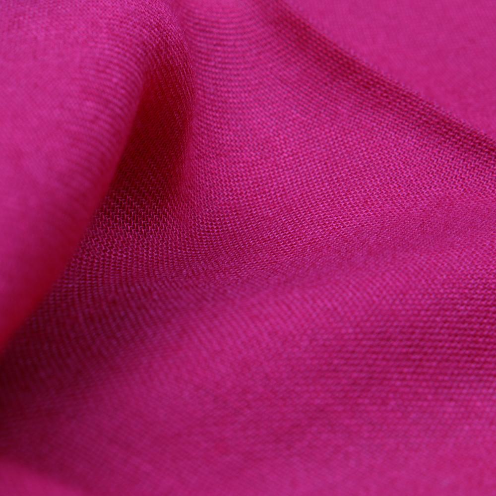 Однотонный палантин Fattorseta малинового цвета
