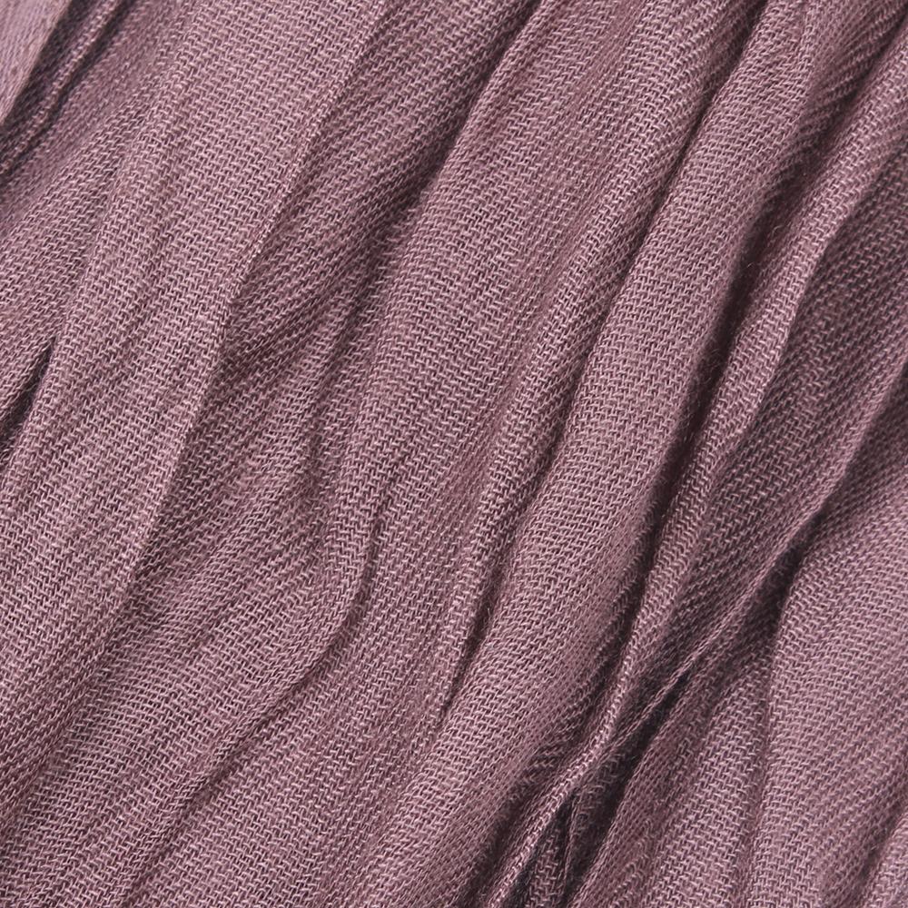Коричневый палантин Fattorseta из жатой ткани