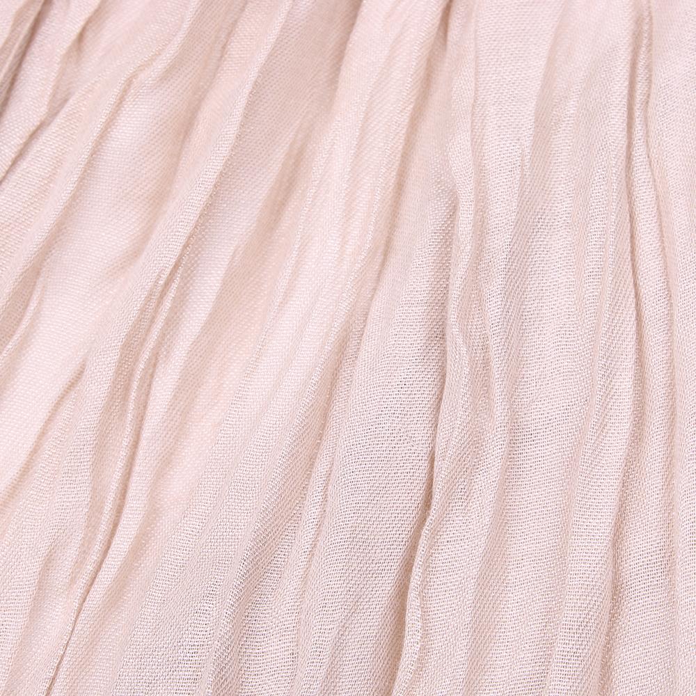 Однотонный палантин Fattorseta бежевого цвета