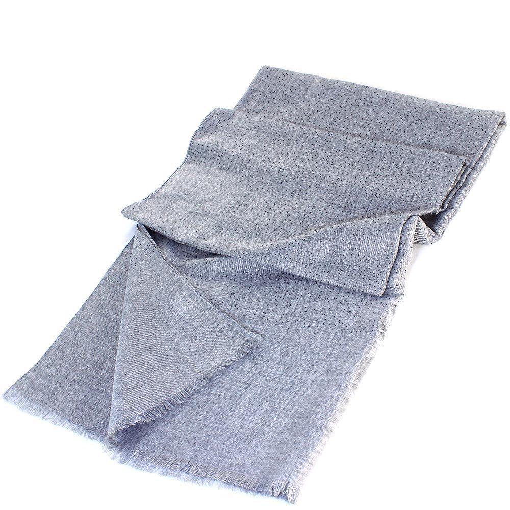 Палантин Maalbi серебристо-серого цвета