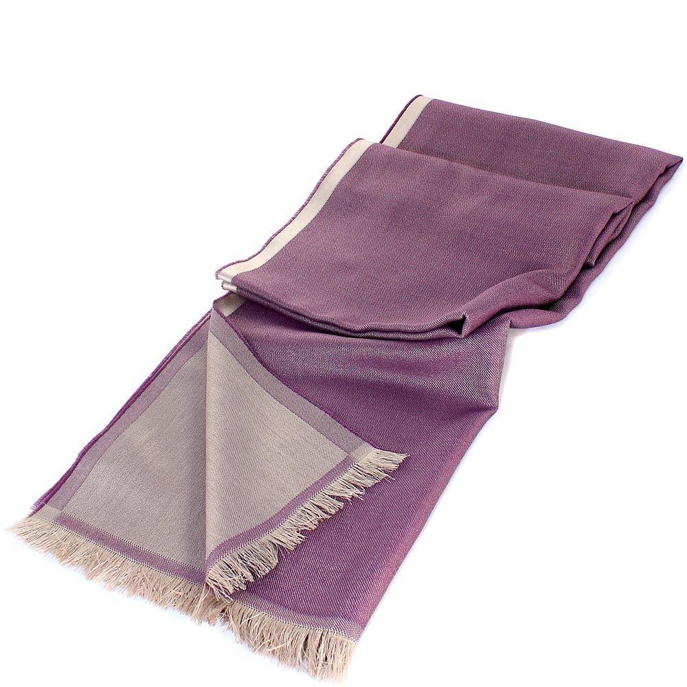 Палантин Maalbi из нитей лилового и бежевого цвета