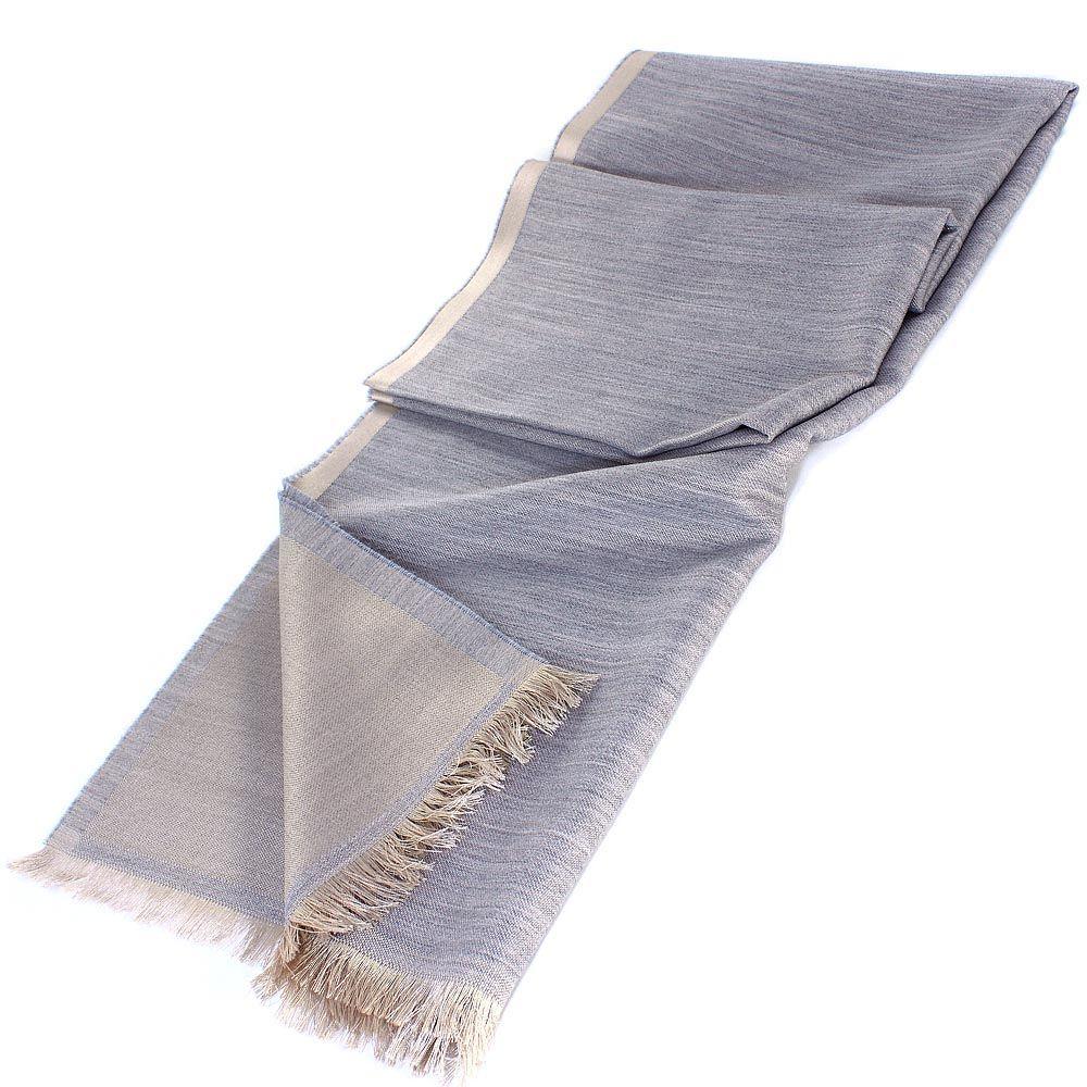 Палантин Maalbi пастельно-серого цвета
