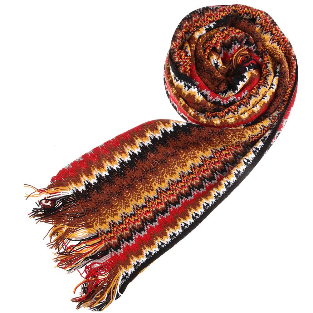 Вязаный шарф Missoni разноцветный