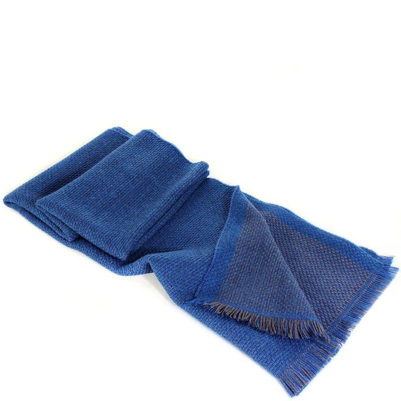 Шерстяной шарф Maalbi цвета джинс