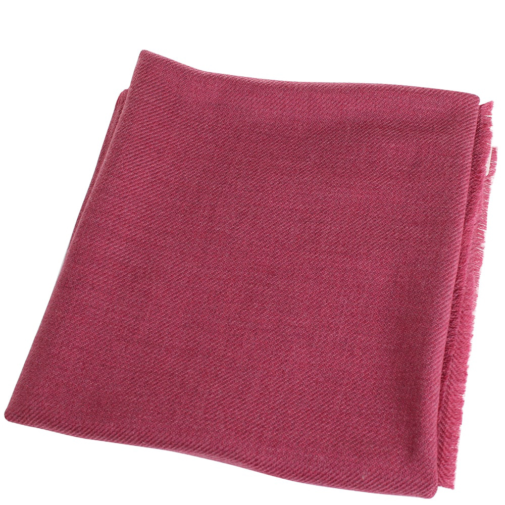 Однотонный платок Maalbi бордового цвета