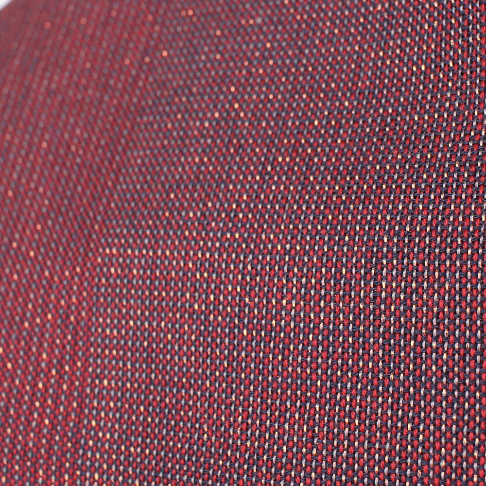 Палантин бордового цвета Maalbi в тонкую полоску