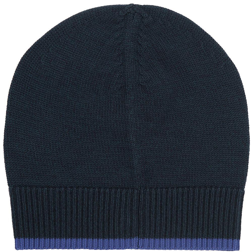 Шерстяная шапка Kenzo темно-зеленого цвета